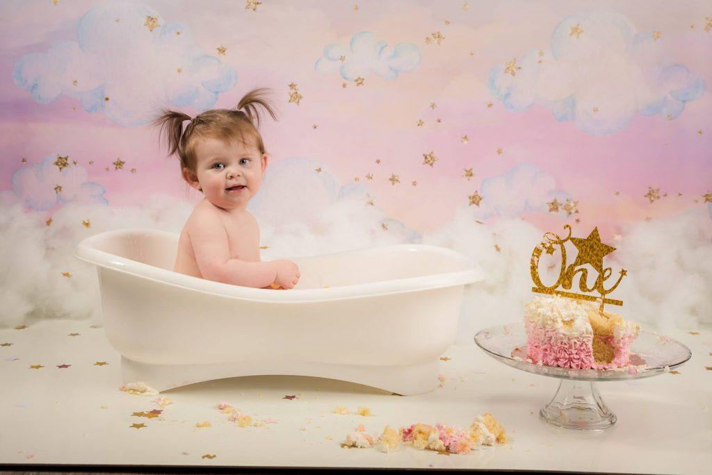 Baby Cake Smash 3 1024x684 - Cake Smash - 1st Birthday