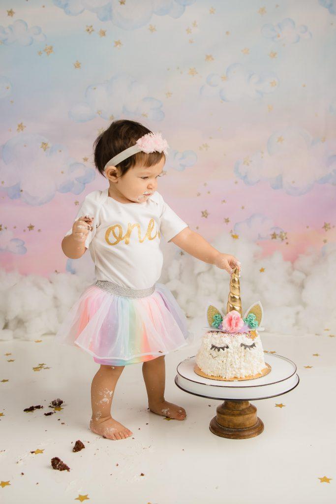 Kailene Jones Cake Smash 1001 683x1024 - Cake Smash - 1st Birthday