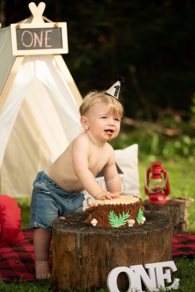 Kailene Jones Cake Smash 1004 2 684x1024 - Cake Smash - 1st Birthday