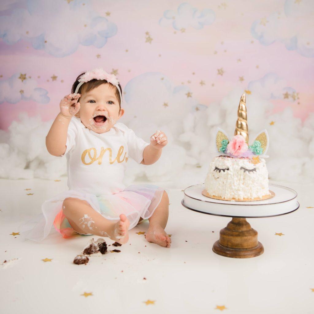 Kailene Jones Cake Smash 1008 1024x1024 - Cake Smash - 1st Birthday