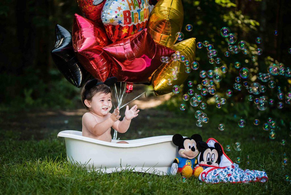 Kyleigh 1045 1024x684 - Cake Smash - 1st Birthday