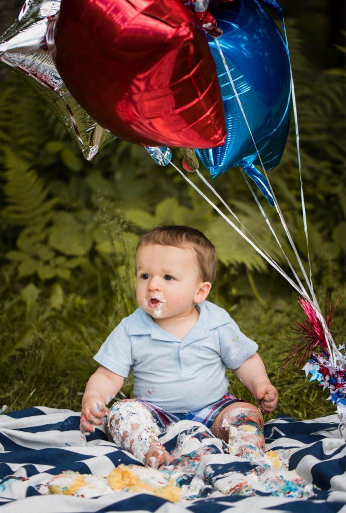 Luke 14 690x1024 - Cake Smash - 1st Birthday