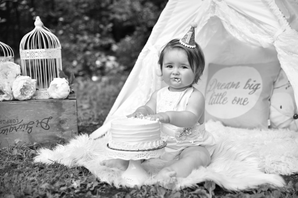 One Year Birthday Portrait 4 1 1024x683 - Cake Smash - 1st Birthday