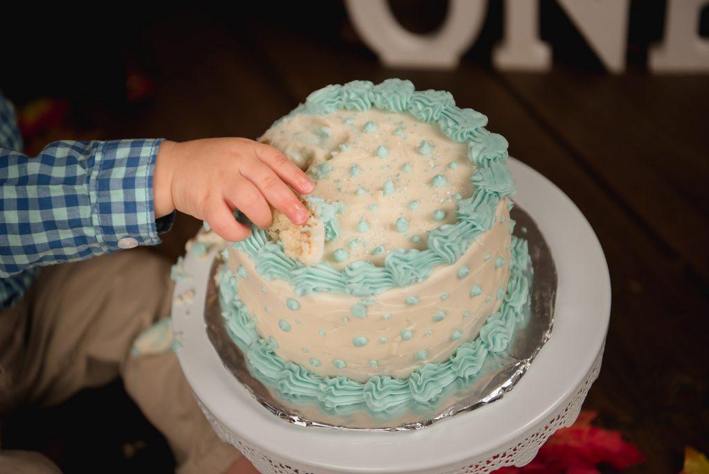 Tobias 1021 1024x684 - Cake Smash - 1st Birthday