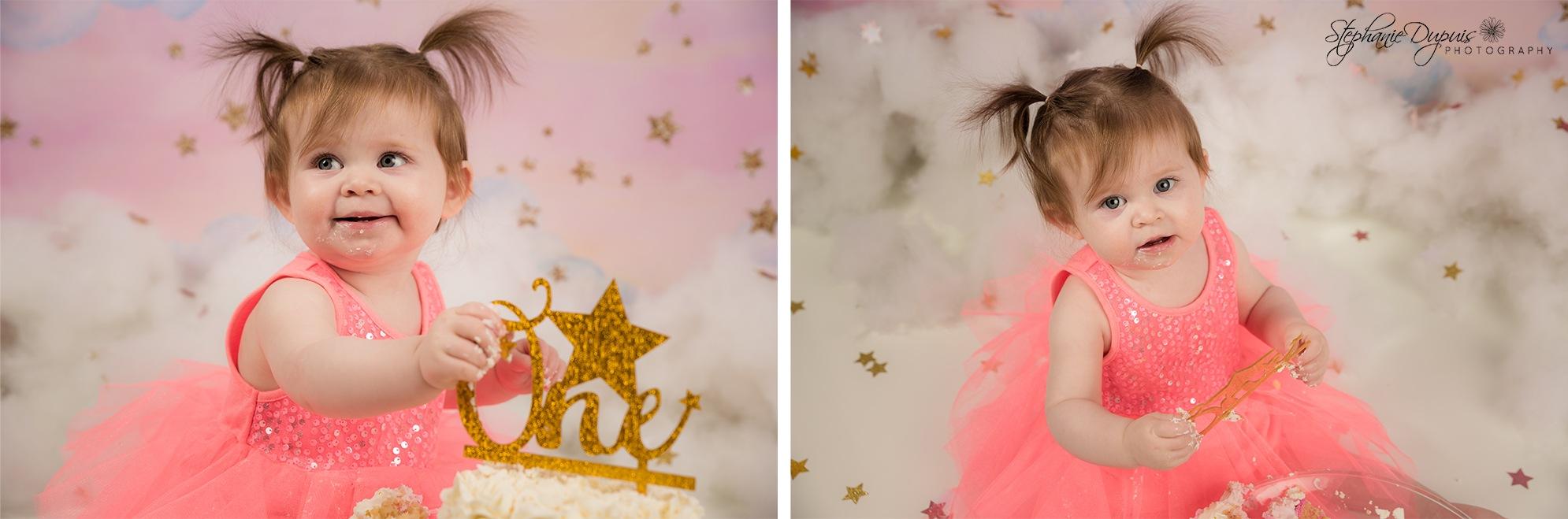 Mia Cake Smash 6 - Portfolio: Mia Cake Smash Session
