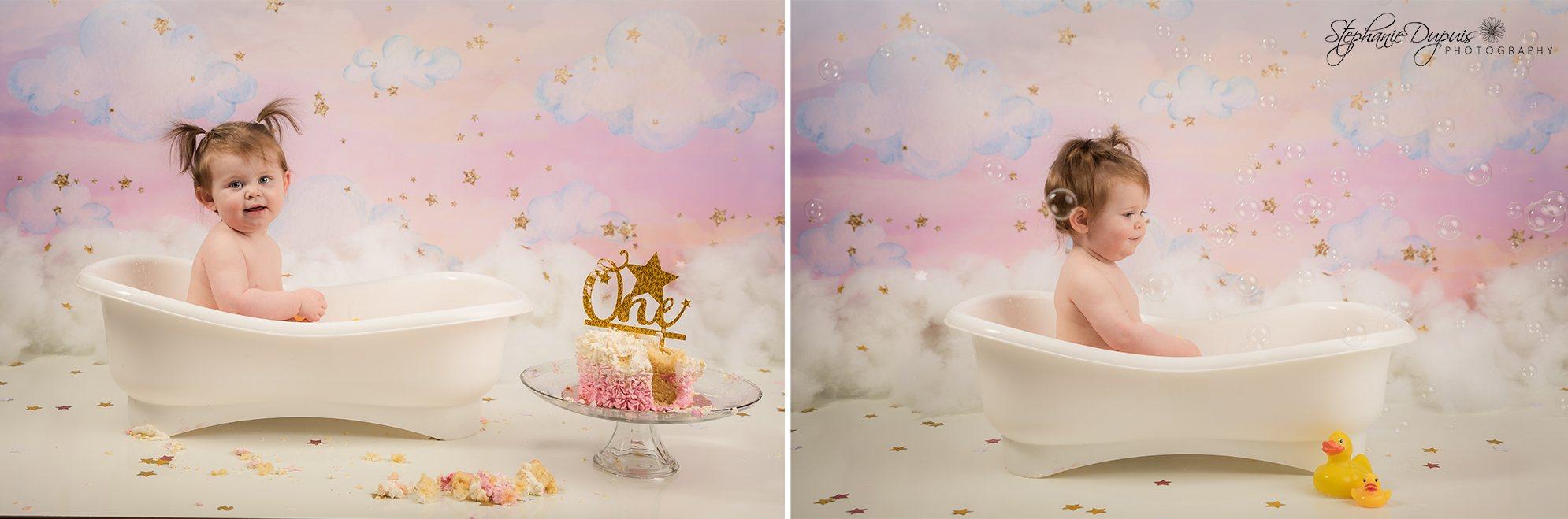 Mia Cake Smash 9 - Portfolio: Mia Cake Smash Session