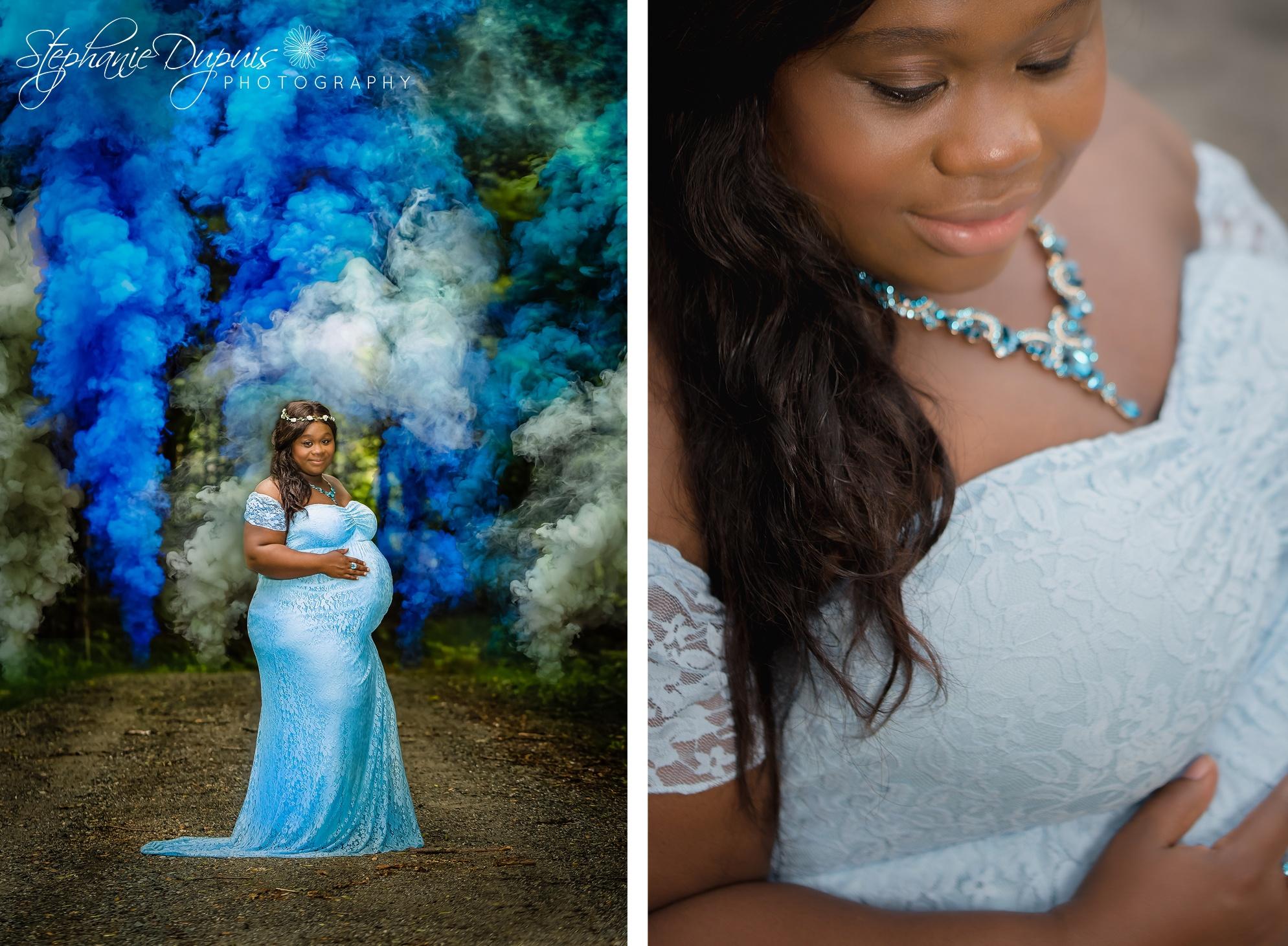 Stephane Double Portrait 1 - Portfolio: Stephane Maternity Session