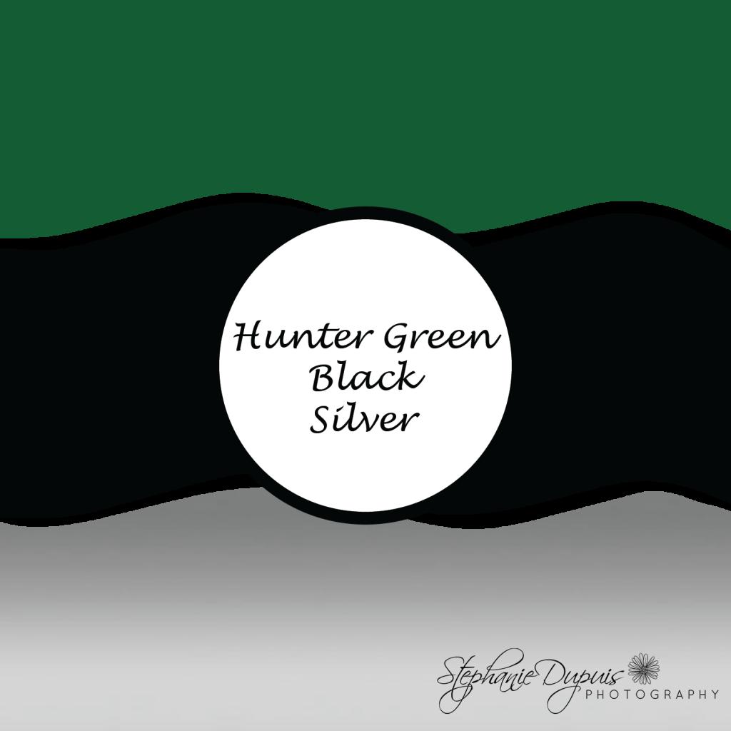 Winter Wedding Colors hunter green black silver 01 1024x1024 - Winter Wedding Colors 2021