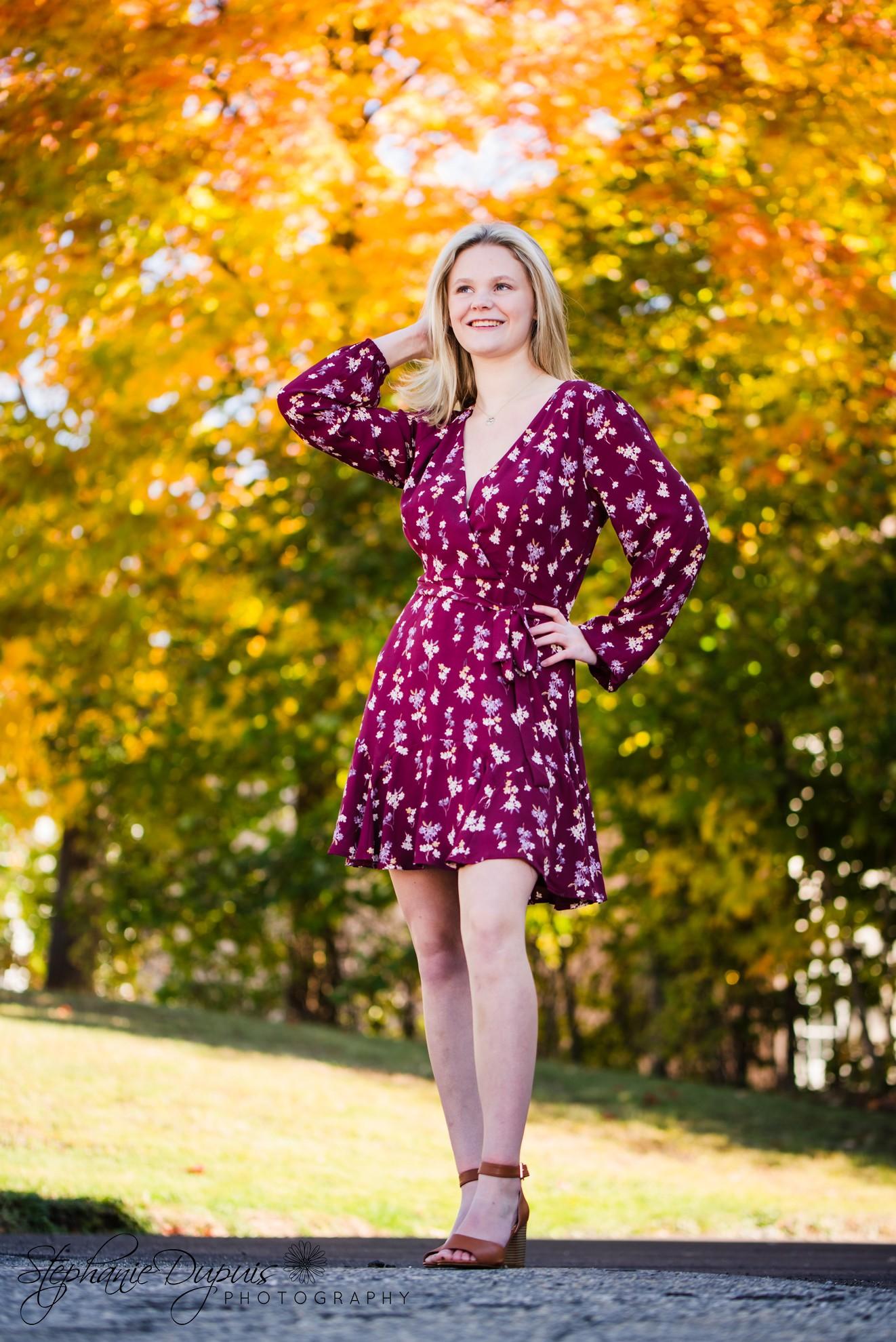 Riendeau 12 2 - Portfolio: Lisa HS Senior Session