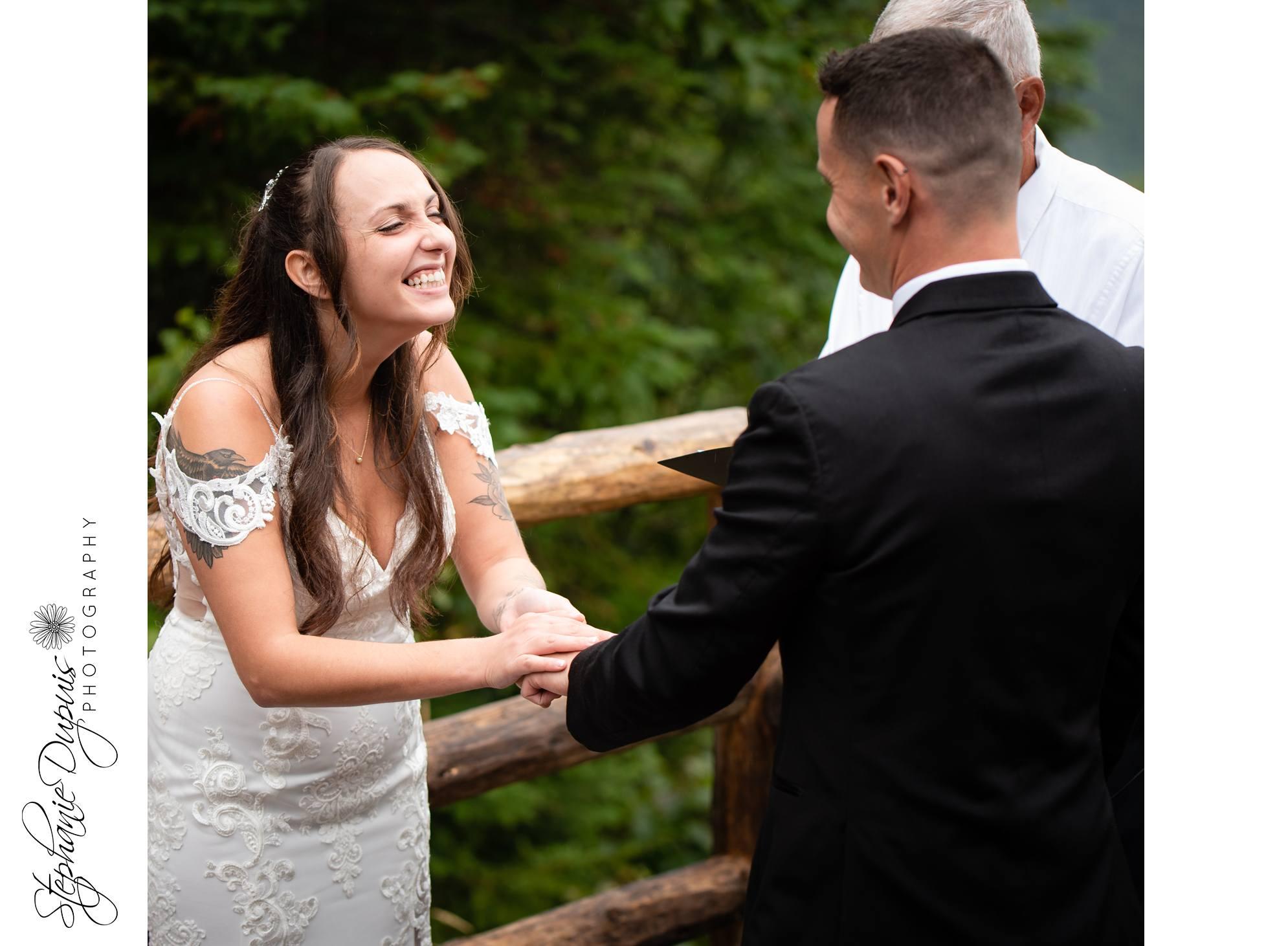 White Mountains Wedding 10 1 - Portfolio: Harper Wedding