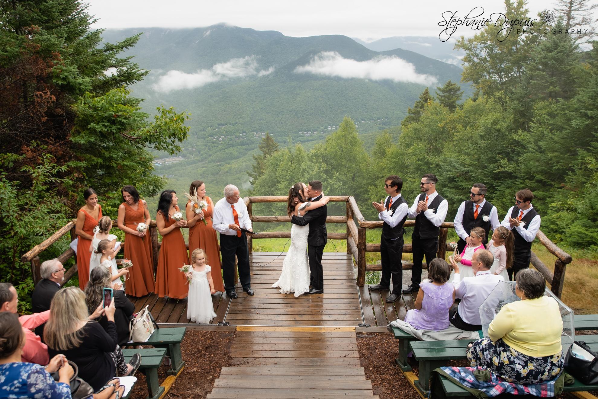 White Mountains Wedding 11 1 - Portfolio: Harper Wedding