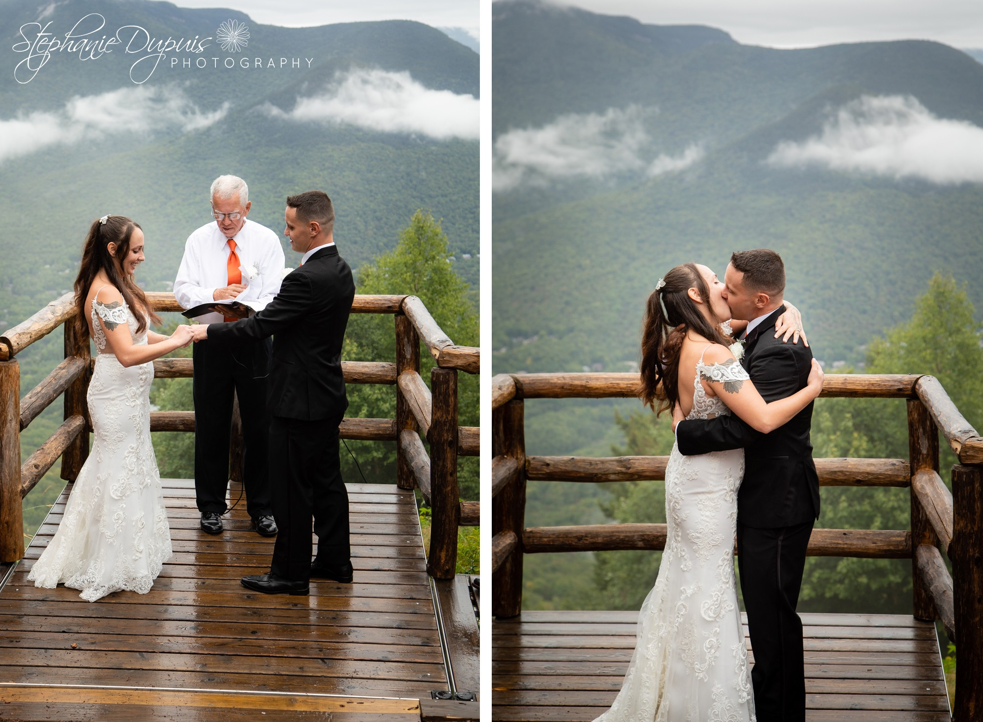 White Mountains Wedding 9 1 - Portfolio: Harper Wedding