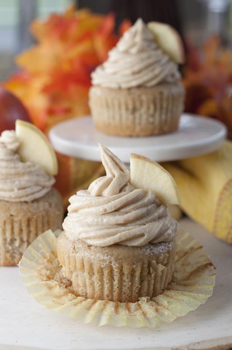 apple cider - Wedding Cupcake Flavors by Season