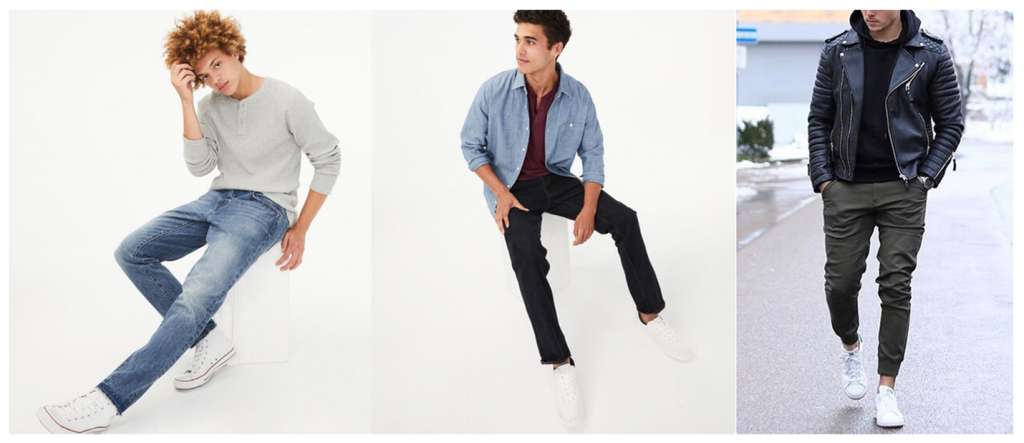 guys casual 1024x443 - What To Wear For 2020 Senior Photos