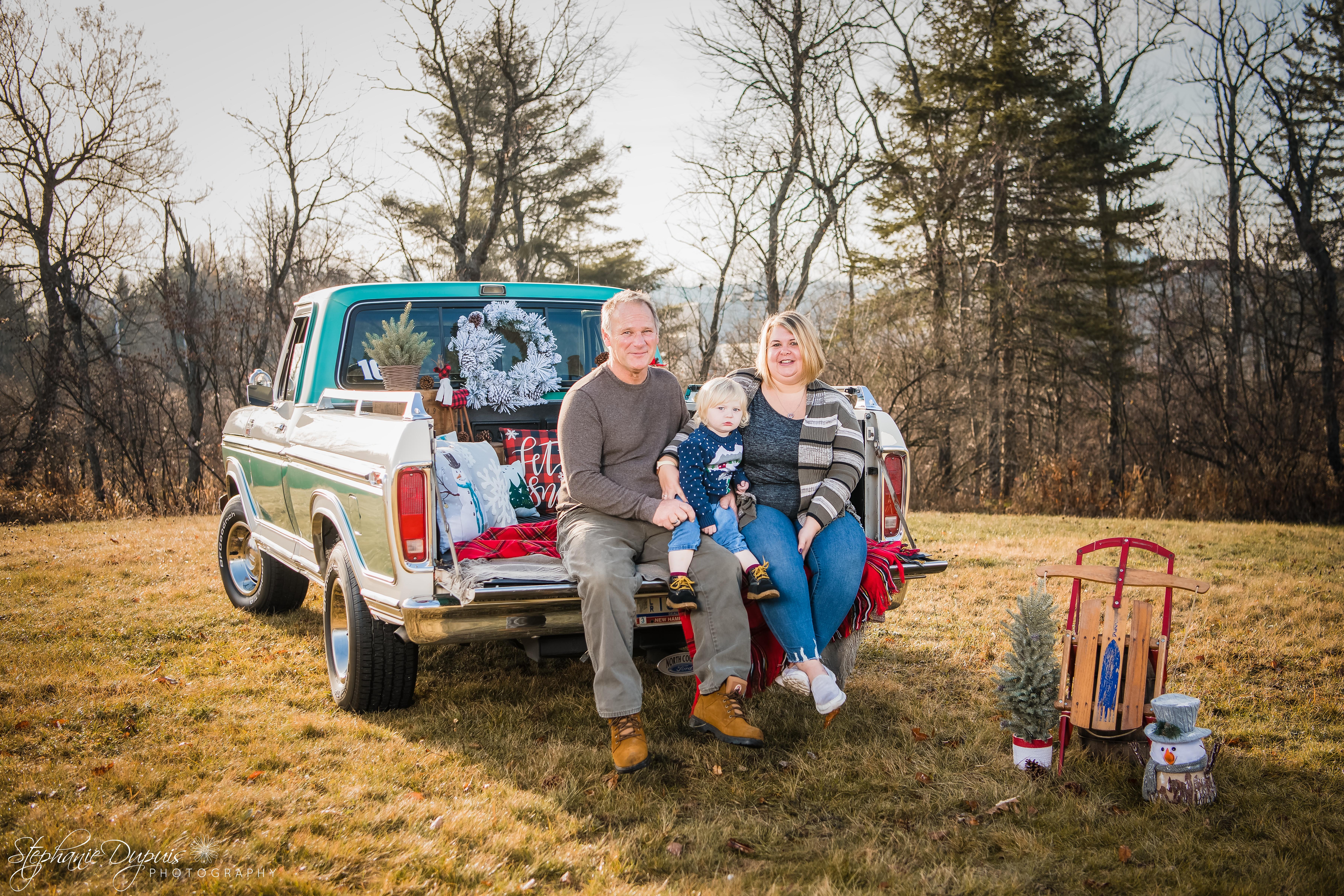 85S1674 Edit - Portfolio: Winter Truck Minis Session