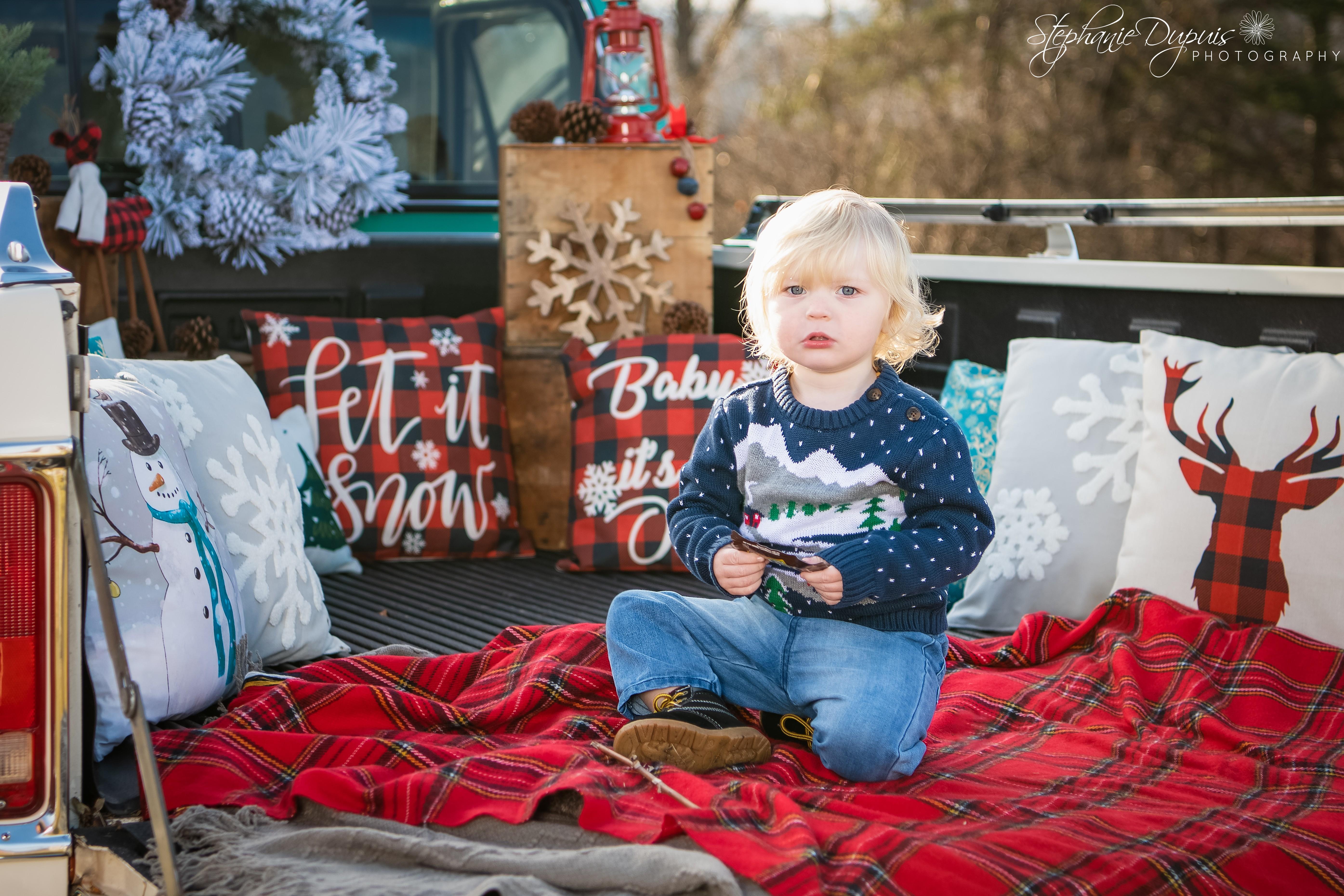 85S1786 1Edit - Portfolio: Winter Truck Minis Session