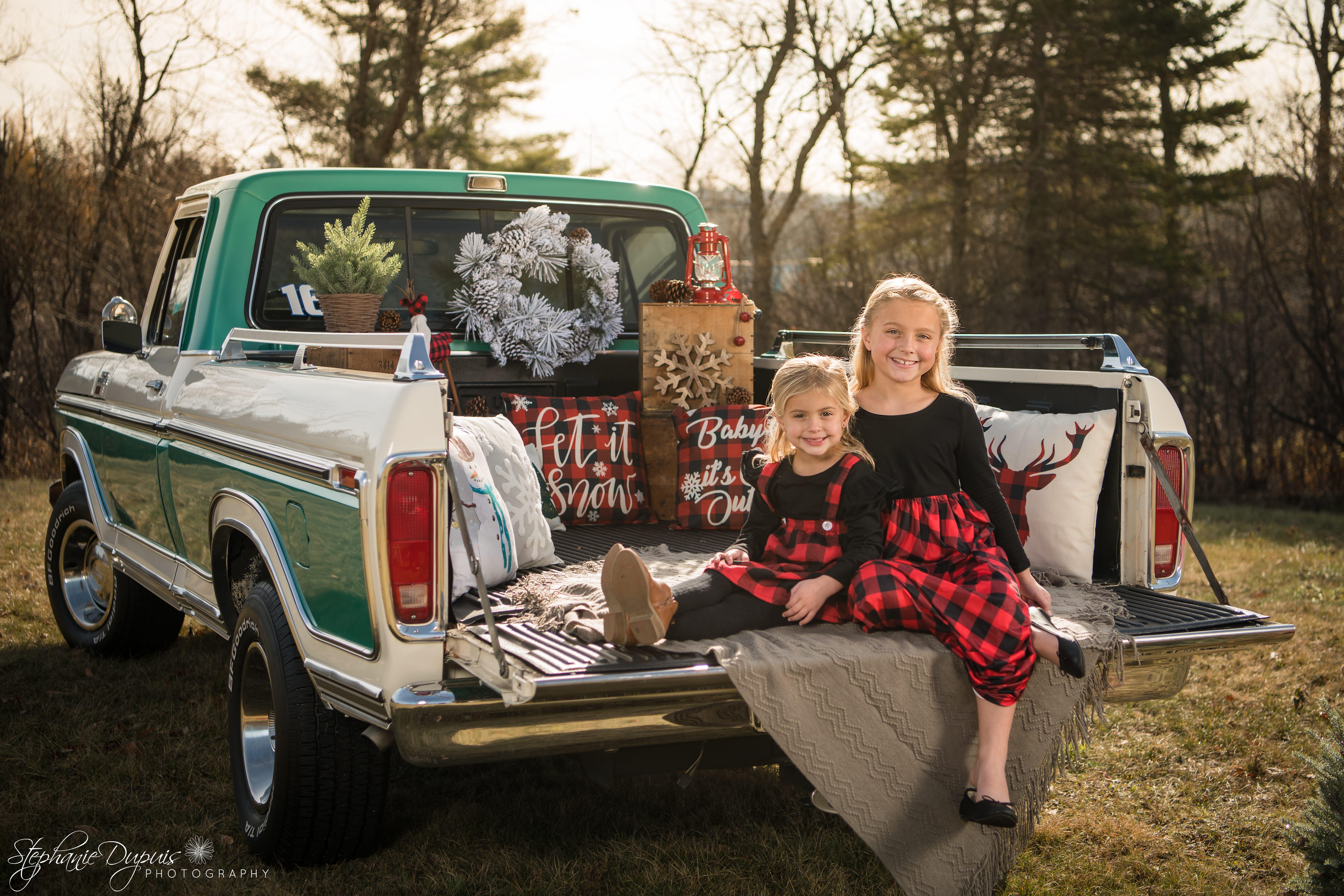 85S2147 Edit - Portfolio: Winter Truck Minis Session
