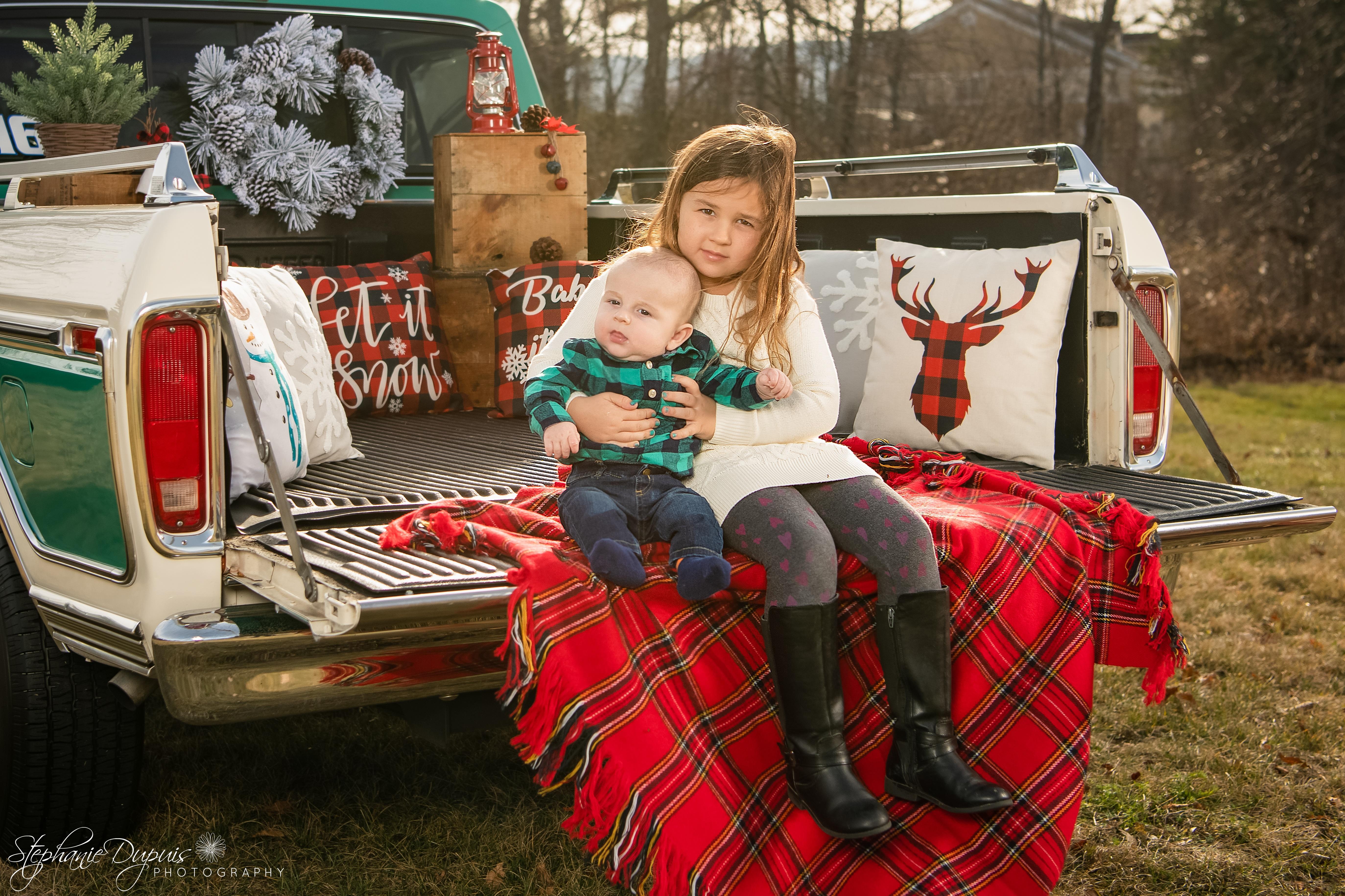85S2459 Edit - Portfolio: Winter Truck Minis Session