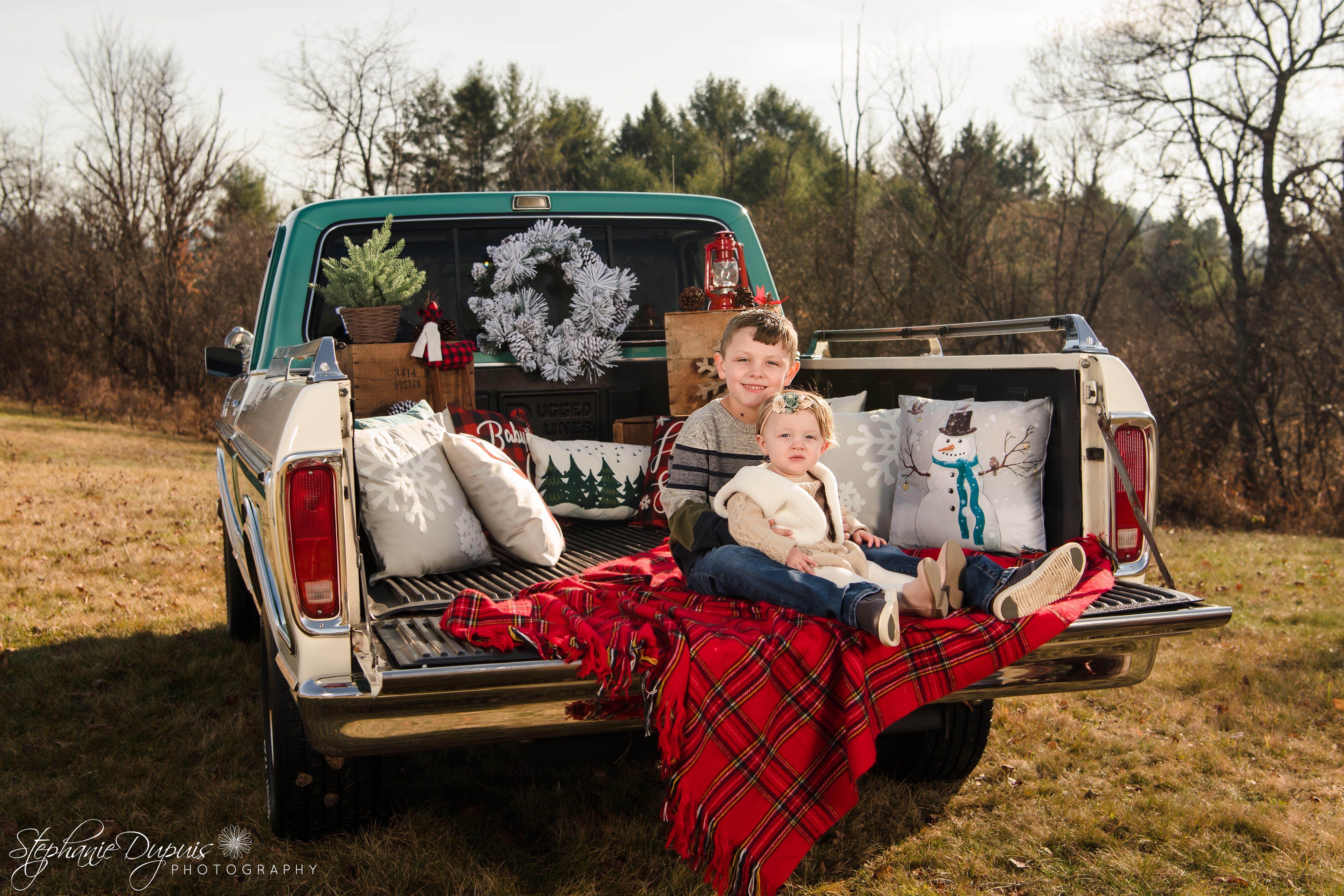 85S3135 Edit - Portfolio: Winter Truck Minis Session