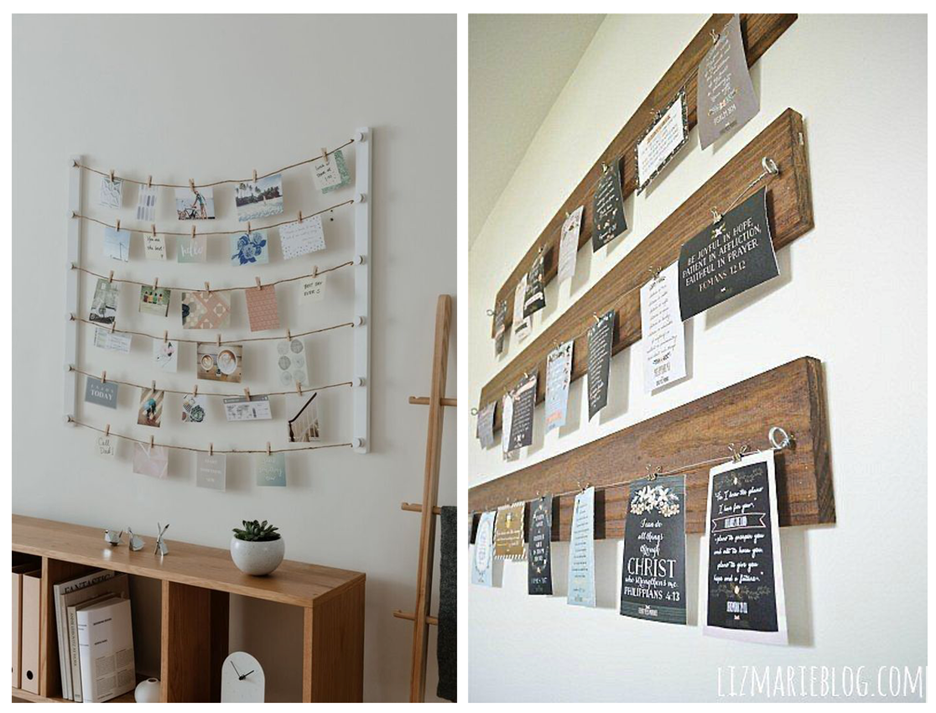 hanging display - How to Display Photos in Your Home