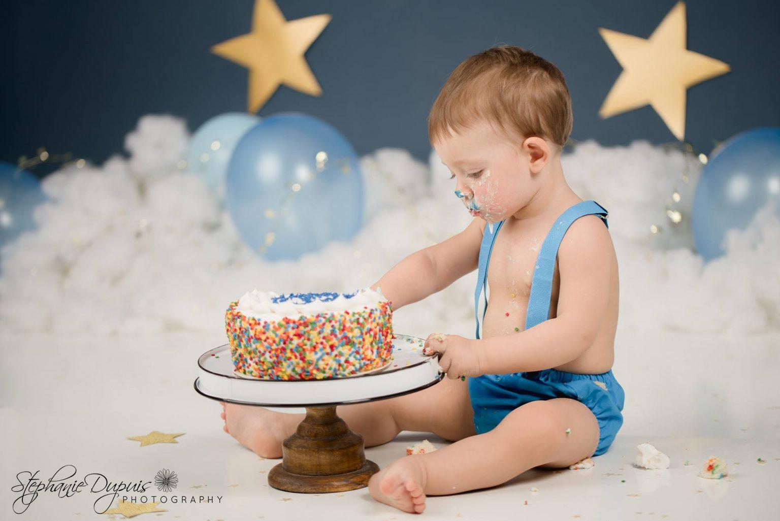Bisson cake smash 11 1536x1026 - Portfolio: Gannon Cake Smash