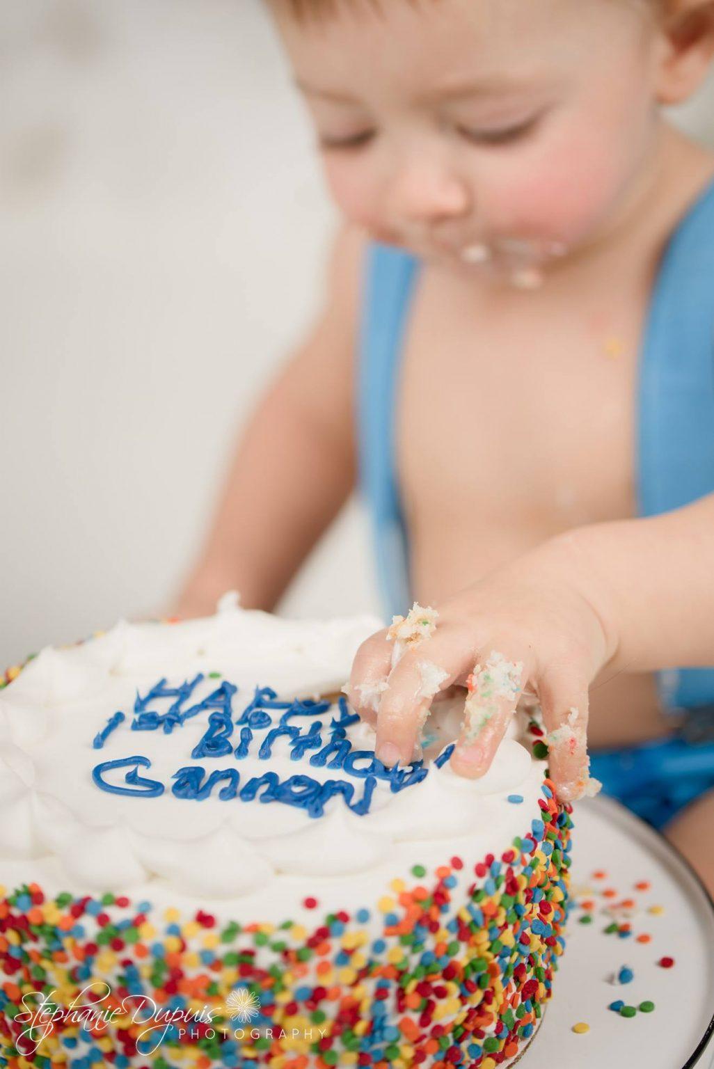 Bisson cake smash 7 1026x1536 - Portfolio: Gannon Cake Smash