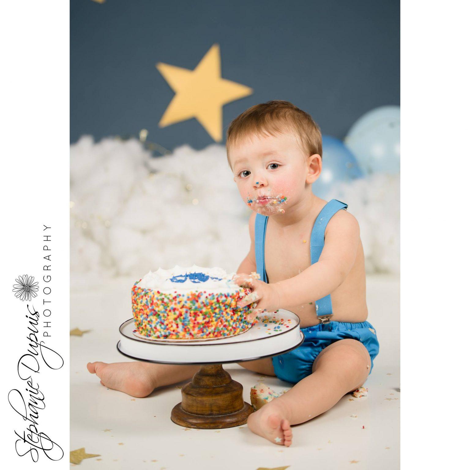 Bisson cake smash 9 1536x1536 - Portfolio: Gannon Cake Smash