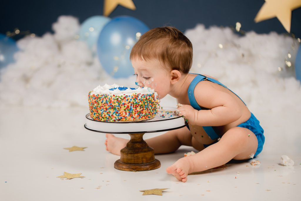Lynn Bisson Cake Smash 1001 1024x683 - Cake Smash - 1st Birthday